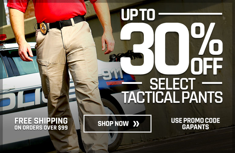 Up to 30% off Select Tactical Pants
