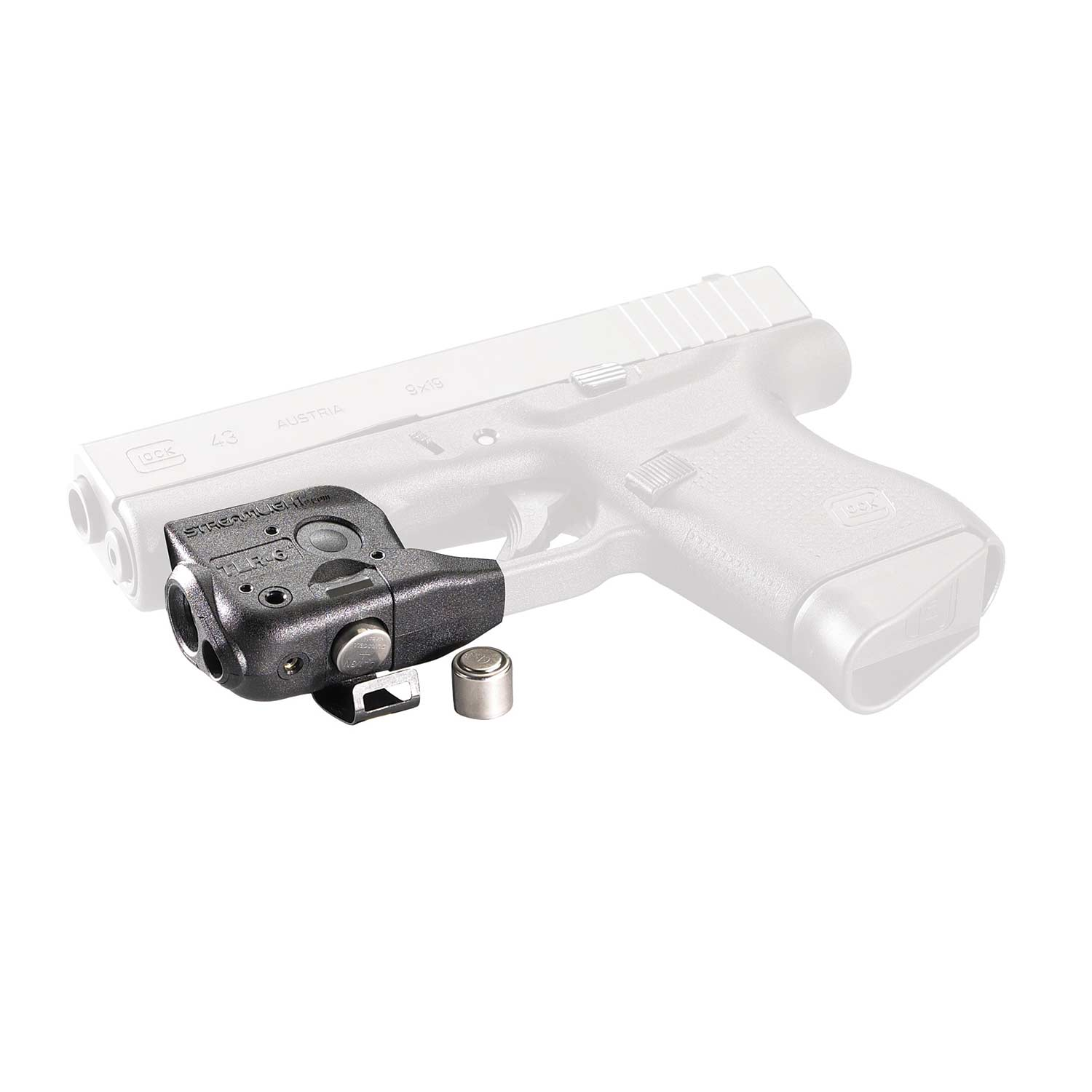 TLR-6 Trigger Guard Mounted Weapon Light with Red Aiming Laser