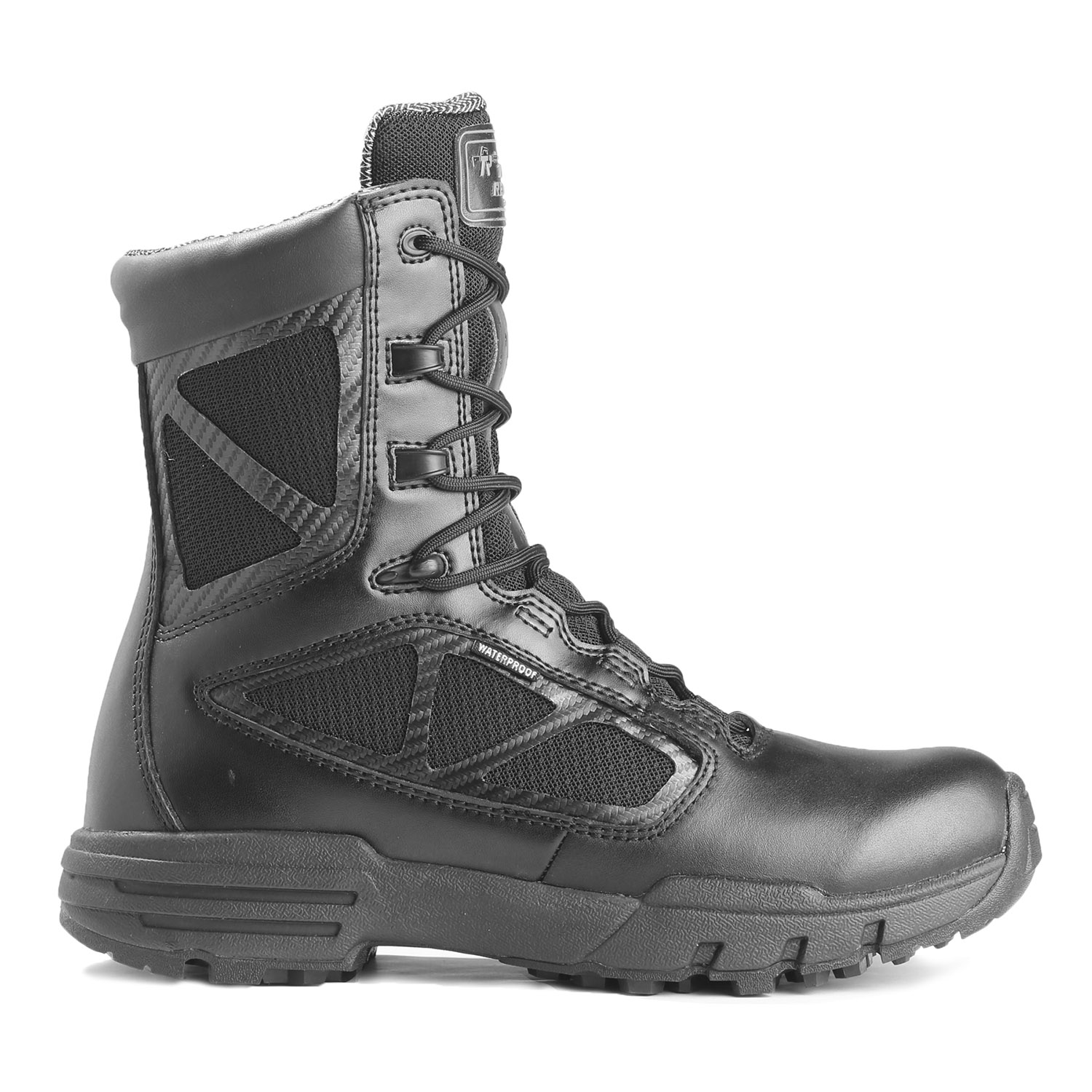 Tactical Research 8 Quot Chrome Side Zip Waterproof Boot