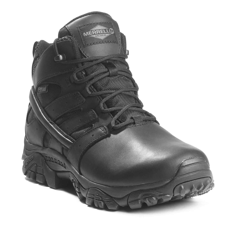 b24b74c8678 Merrell Women's Moab 2 Mid Tactical Response Waterproof Boots.