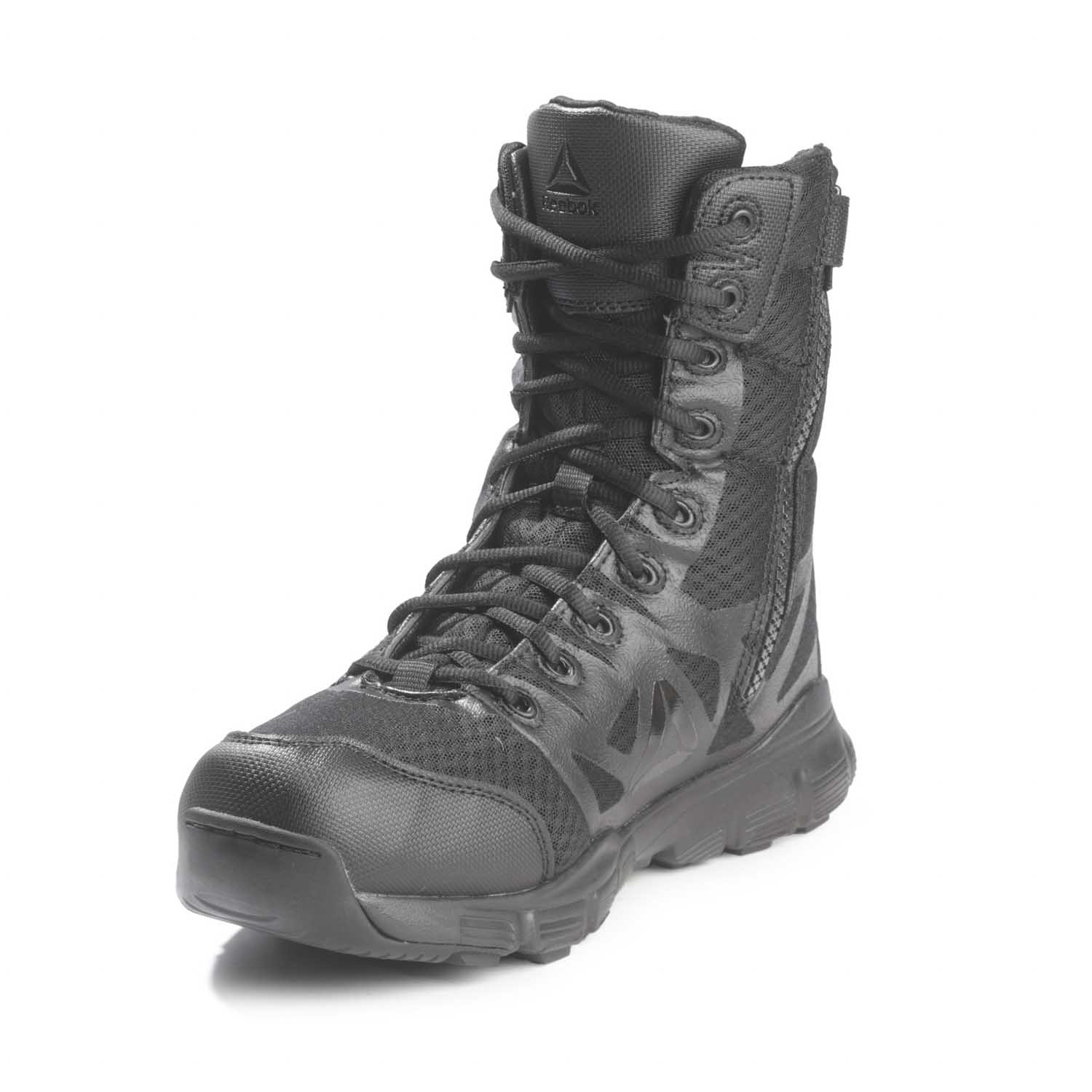 Reebok 8 Quot Dauntless Ultra Light Side Zip Duty Boots