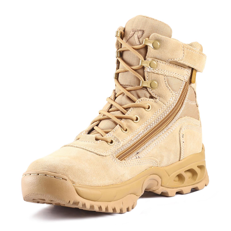 Ridge 7 Desert Storm Side Zip Boot