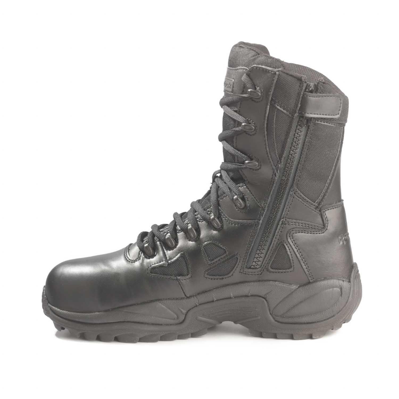 Reebok 8 Quot Rapid Response Side Zip Composite Toe Boots