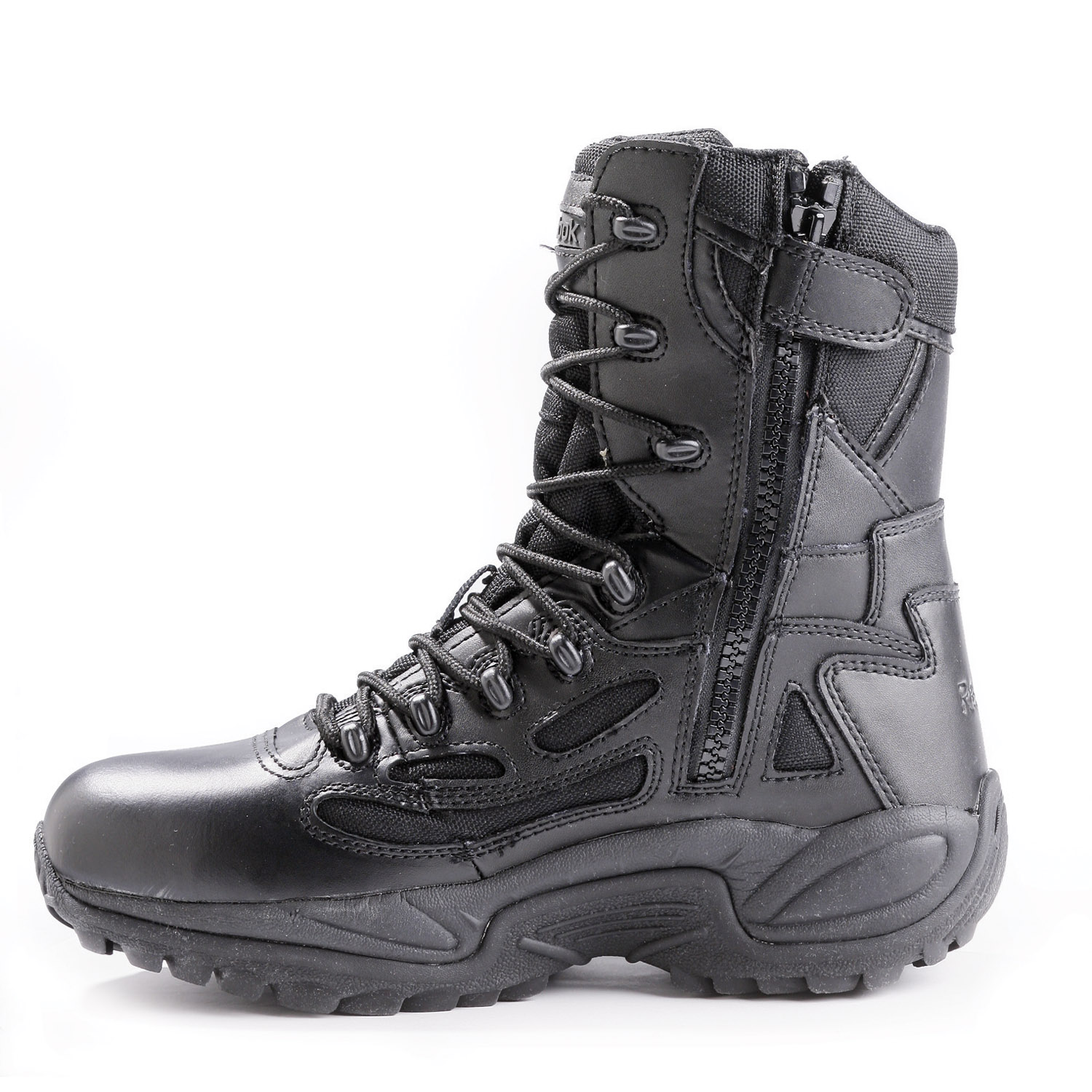 Reebok Women S 8 Quot Rapid Response Waterproof Side Zip Boots
