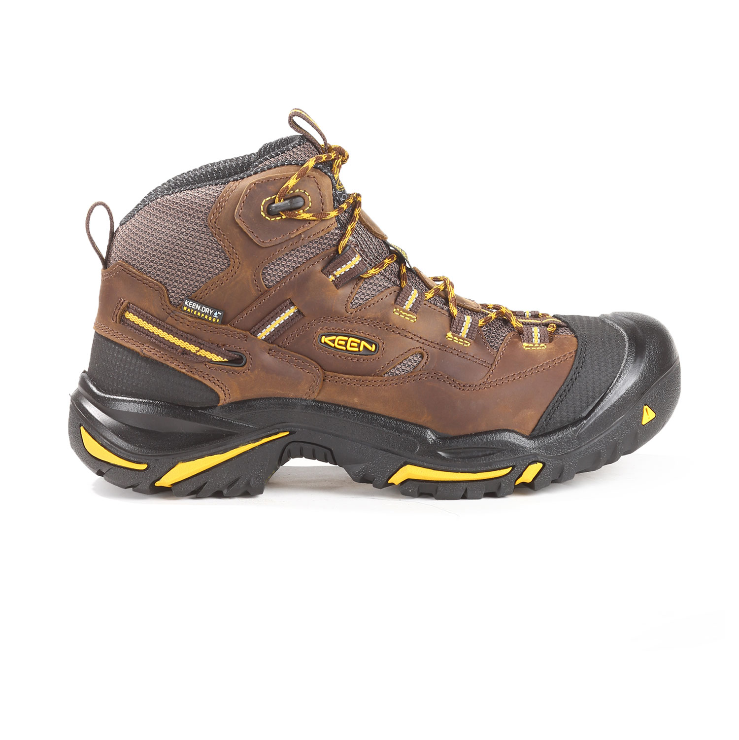 e049e0940eb Keen Braddock Waterproof Steel Toe Quarterboot.