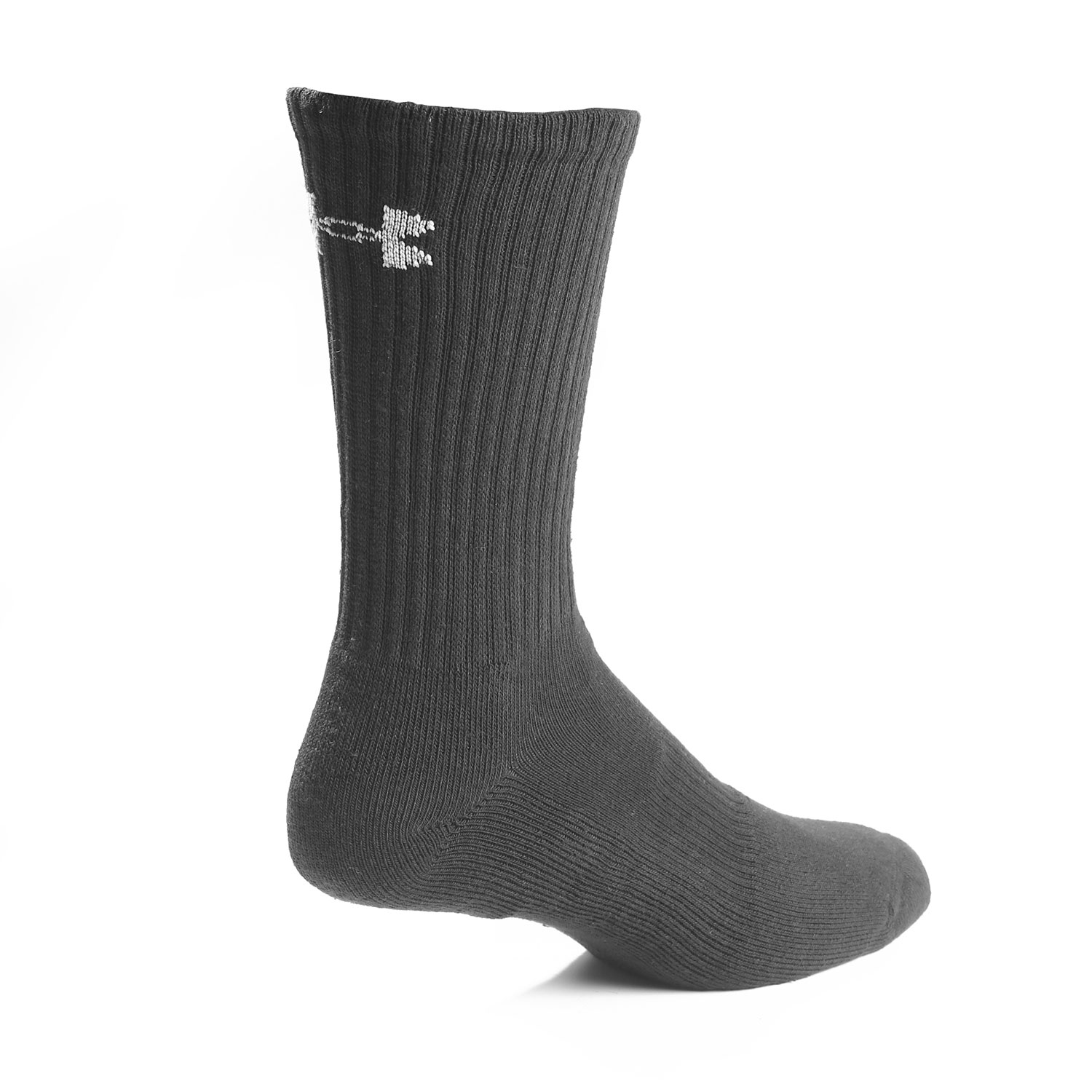 f0fee93dd22d Under Armour Charged Cotton 2.0 Crew Sock 6 Pack.