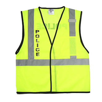 Security & Protection Safety Vest Traffic Fluorescent Light/ Mesh Vest