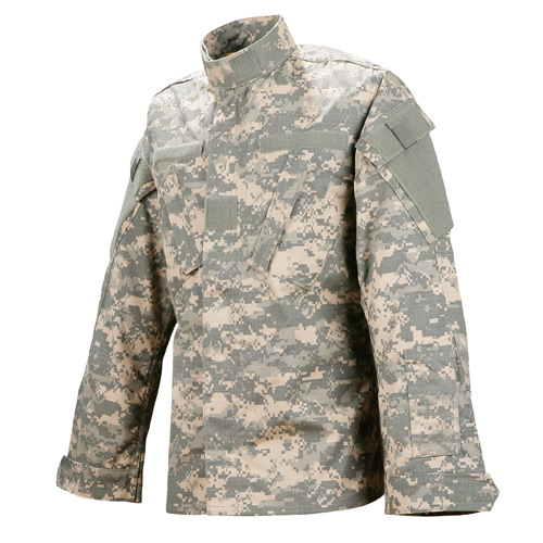 ef3afe8d4ac6a Tru-Spec ACU US Army Combat Uniform Digital Camo Nyco Ripstop BDU Jacket