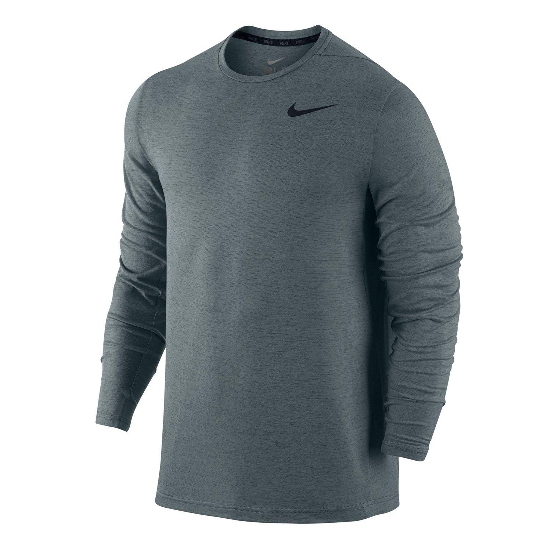 a9a3d90e Nike Mens Dri Fit Training Long Sleeve Crew