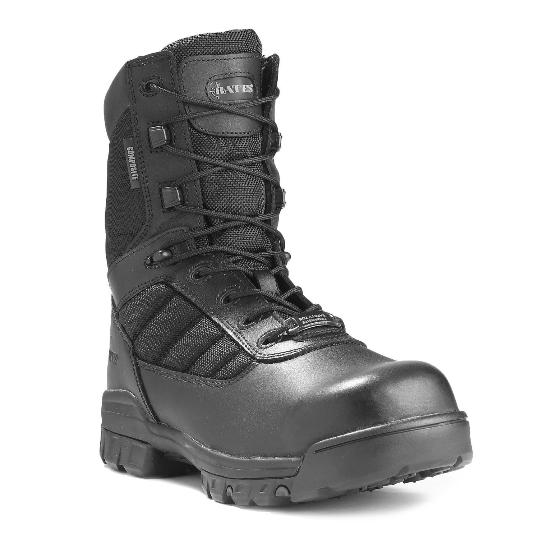 Bates 8 Quot Zipper Composite Toe Boot
