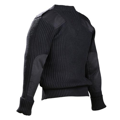 Galls Commando V Neck Acrylic Wool Sweater