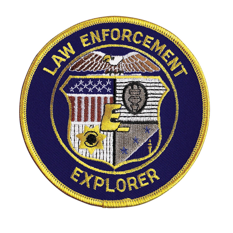 Hero S Pride Standard Law Enforcement Explorer Emblem