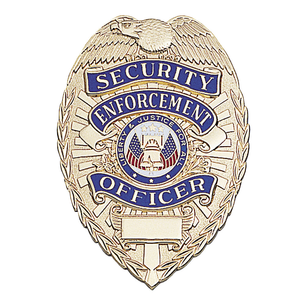 LawPro Lite Security Enforcement Officer Badge