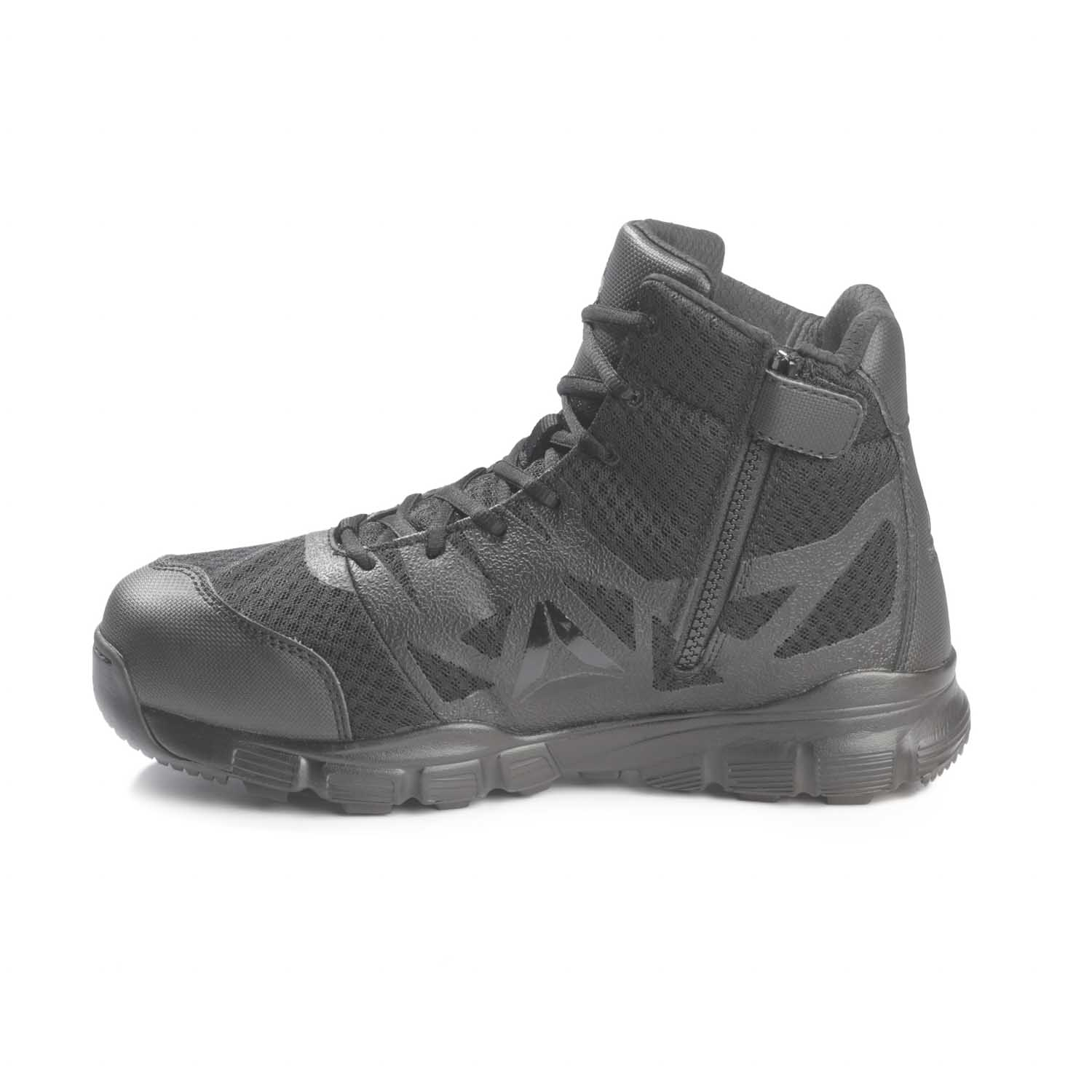 Reebok 5 Quot Dauntless Ultra Light Side Zip Hiker Boots