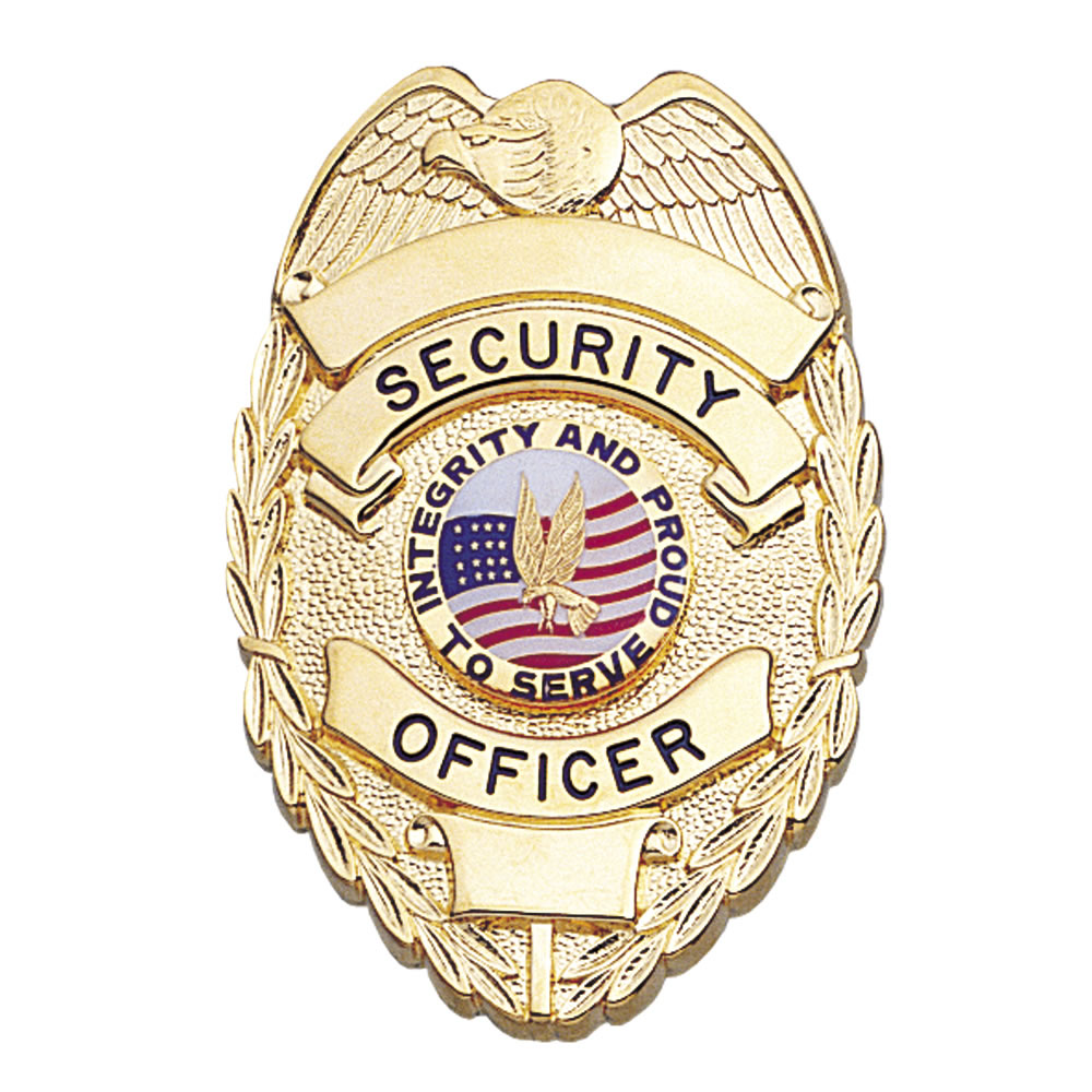 Lawpro Deluxe Security Officer Shield Badge